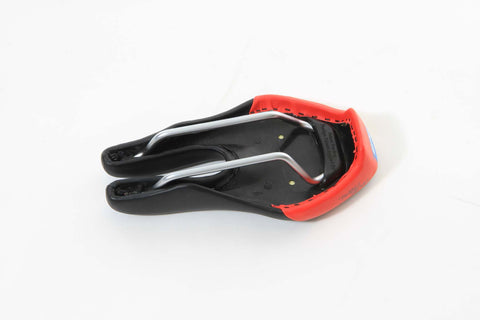 ISM Adamo Time Trial Saddle - Black/Red - My Bike Shop  - 2