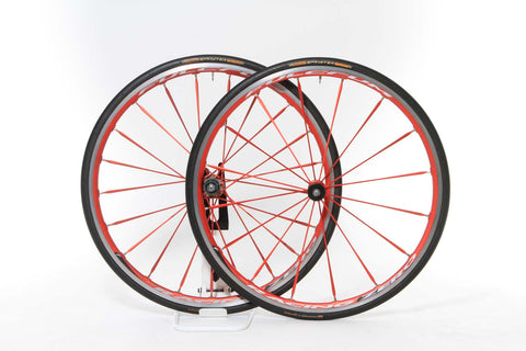 2012 Fulcrum Racing Zero HG Tubular Wheel Set - Upgraded SRAM/Shimano 10/11-Speed - My Bike Shop  - 1