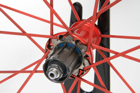 2012 Fulcrum Racing Zero HG Tubular Wheel Set - Upgraded SRAM/Shimano 10/11-Speed - My Bike Shop  - 2