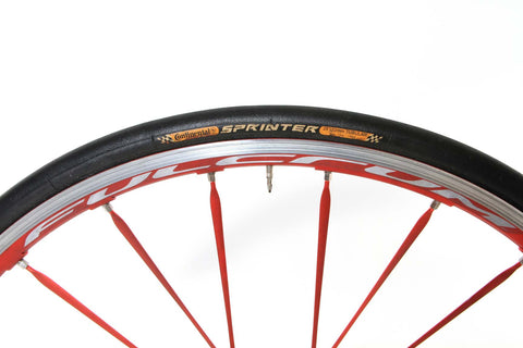 2012 Fulcrum Racing Zero HG Tubular Wheel Set - Upgraded SRAM/Shimano 10/11-Speed - My Bike Shop  - 5