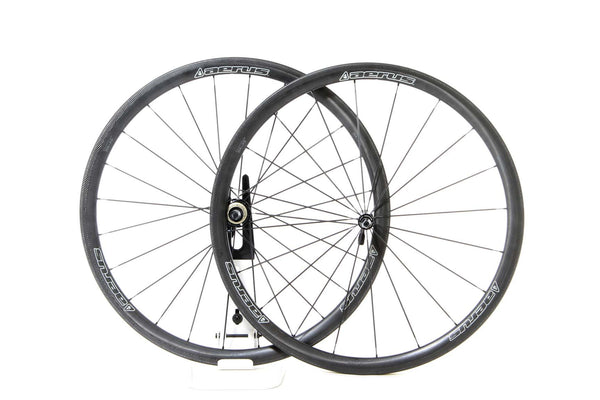 2016 Aerus Quantum SL-35 Carbon Clincher Wheel Set - New - Full Warranty - FREE TIRES AND TUBES! - My Bike Shop  - 1