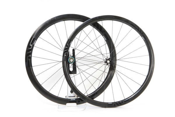 New 2016 ENVE SES 3.4 Disc Carbon Clincher Wheel Set (Custom) - Campy 10/11 - Full Warranty - FREE TIRES AND TUBES! - My Bike Shop  - 1