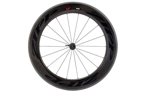 2015 Zipp 808 Firecrest Wheel Set - Black Decals - My Bike Shop  - 2