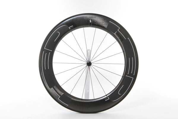 2016 HED Jet Black 9 Front Wheel - New - Full Warranty - My Bike Shop  - 1