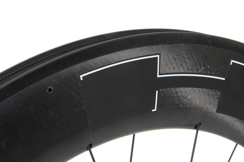 2016 HED Jet Black 9 Rear Wheel - New - Full Warranty - My Bike Shop  - 9
