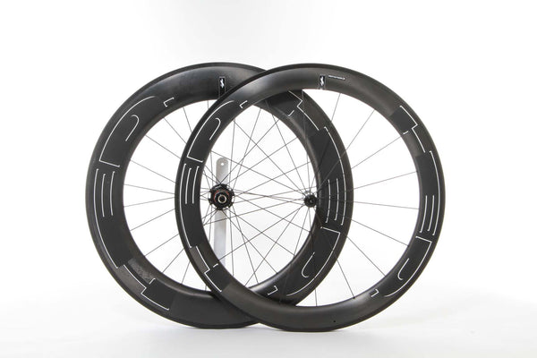 2016 HED Jet 6/9 Black Wheel Set - New - Full Warranty - My Bike Shop  - 1
