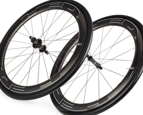 HED Jet 5 Black Wheel Set - New - Full Warrany - MBS Exclusive