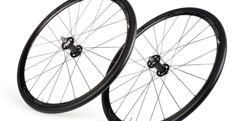 2017 HED Ardennes Track Black Clincher Wheel Set - New - Full Warranty - My Bike Shop