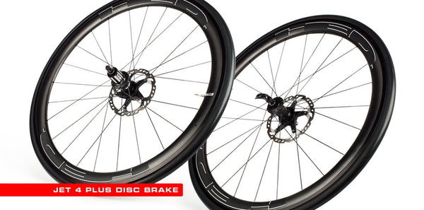 2016 HED Jet Black 4 Disc Wheel Set - New - Full Warranty - My Bike Shop
