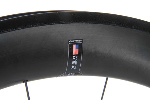 2016 HED Jet 6 Black Front Wheel  - New - Full Warranty - My Bike Shop  - 7
