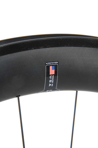 2016 HED Jet 6 Black Rear Wheel  - New - Full Warranty - My Bike Shop  - 8