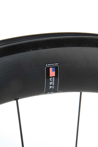 2016 HED Jet 6 Black Wheel Set - New - Full Warranty - My Bike Shop  - 8