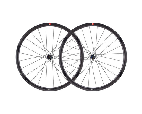 2016 3T Orbis II C35 Team Stealth Carbon Clincher Wheel Set - My Bike Shop