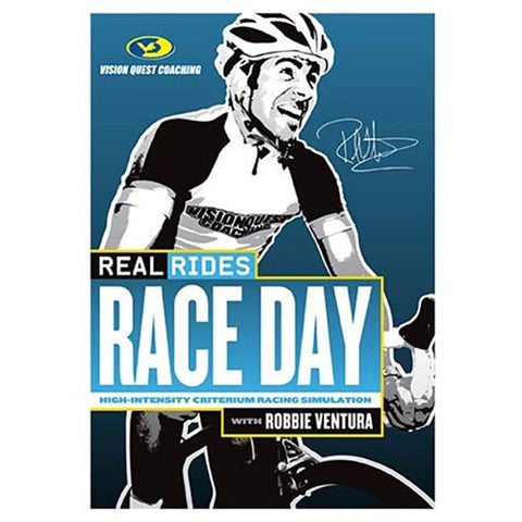 CycleOps Real Rides Race Day Trainer DVD (open-box)