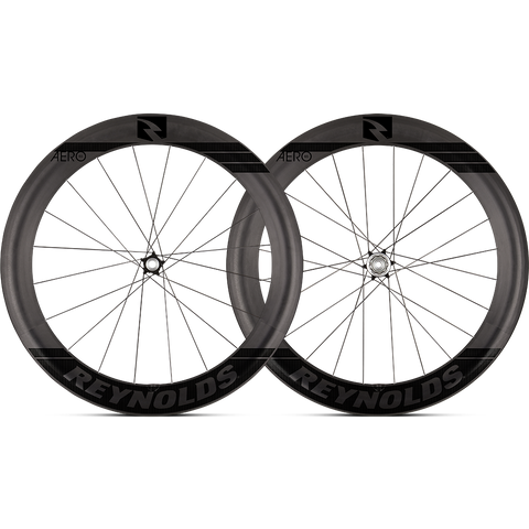 2017 Reynolds Aero 65 DB Carbon Clincher Wheel Set - FREE TIRES AND TUBES! - My Bike Shop  - 1