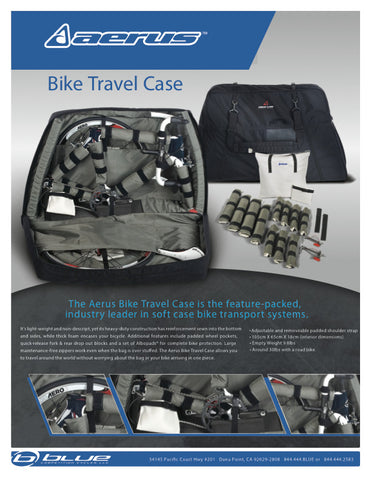 Aerus Biospeed Bike Travel Case - My Bike Shop  - 12