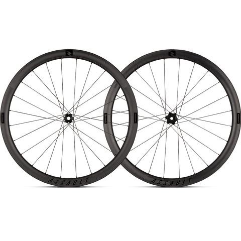 2017 Reynolds Assault DB Carbon Clincher Wheel Set - FREE TIRES AND TUBES! - My Bike Shop  - 1