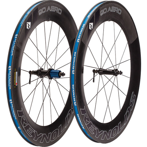 2016 Reynolds Aero 90 Carbon Clincher Wheel Set - New - Full Warranty - My Bike Shop