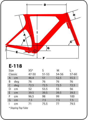 2016 Argon 18 E-118 Next Frame Set and Custom Build Options - New - Full Warranty