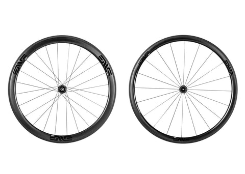 2017 ENVE SES 3.4 Carbon Tubular Road Wheel Set - FREE TUBULAR TIRES! - My Bike Shop  - 2