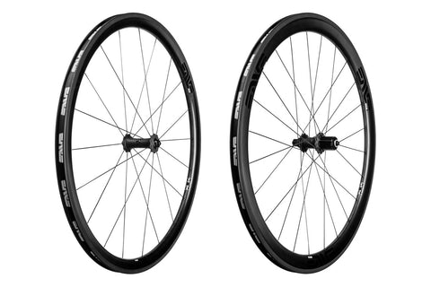 2017 ENVE SES 3.4 Carbon Tubular Road Wheel Set - FREE TUBULAR TIRES! - My Bike Shop  - 3
