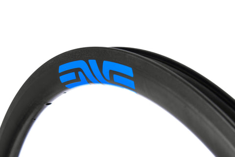 2017 ENVE SES 3.4 Carbon Tubular Road Wheel Set - New - Blue - DT240