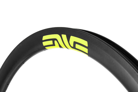 2017 ENVE SES 3.4 Carbon Tubular Road Wheel Set - New - Neon Yellow - DT240
