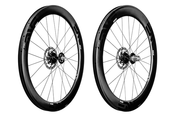 2017 ENVE SES 5.6 Clincher Disc Road Wheel Set - FREE TIRES AND TUBES! - My Bike Shop  - 1