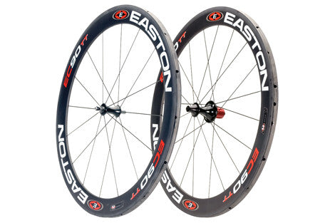 2010 Easton EC90 TT 56mm Tubular Wheelset - Pre-Owned