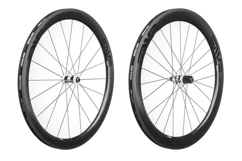 2015 ENVE SES 3.4 Carbon Clincher Wheelset - DT Swiss 180 Carbon Hubs W/ Ceramic Bearings - Pre-Owned