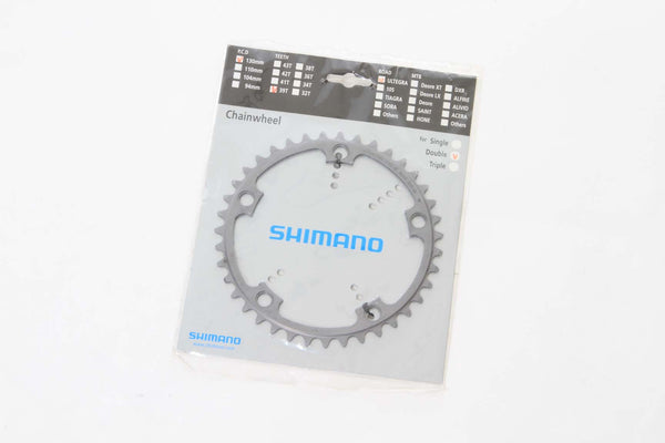 Shimano Ultegra FC 6600 39T Silver Chain Ring 130mm BCD - My Bike Shop