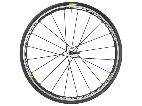 2017 Mavic Ksyrium Elite WTS Road Wheel Set (White) - New - Full Warranty