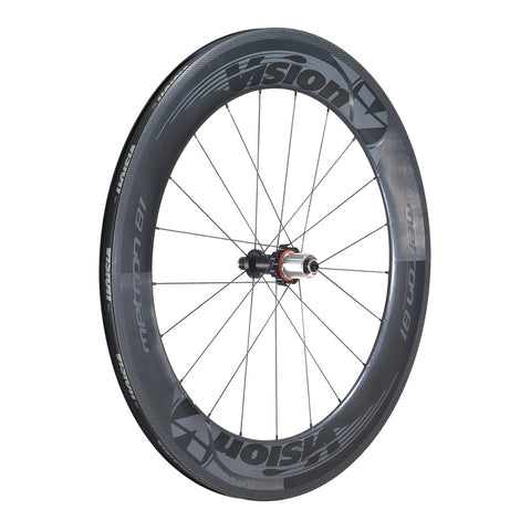 2016 Vision Metron 81 Carbon Clincher Wheel Set - (pre-owned)