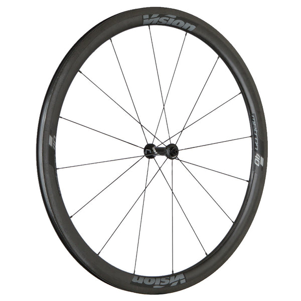 2017 Vision Metron 40 SL Carbon Clincher Wheel Set - New - Full Warranty