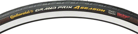 Continental Grand Prix 4-Season, 700x25, Black DuraSkin Folding Tire - Free Shipping! - My Bike Shop  - 1