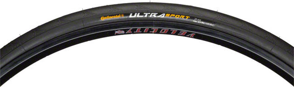 Continental Ultra Sport II Tire - Steel Bead - Black