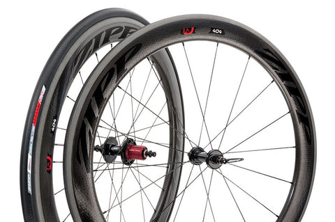 2015 Zipp 404 Firecrest Tubular Wheel Set w/ Tires - Full Warranty - My Bike Shop  - 13