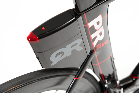 2017 Quintana Roo PRfive Frameset W/ Custom Build Options (Black/Red) - 48cm - New - Full Warranty