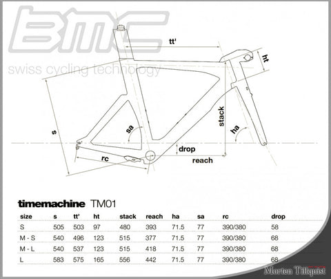 2013 BMC TimeMachine 01 (TM01) Ultegra Di2 11-Speed - Small - My Bike Shop  - 3