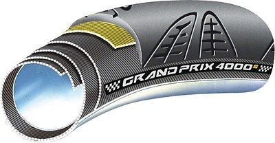 Continental Grand Prix 4000 S Tubular 700x22mm Black Foldable with Black Chili Rubber - Free Shipping! - My Bike Shop  - 2