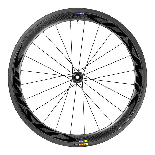 2017 Mavic Cosmic Pro Carbon SL Disc WTS Tubular Wheel Set - My Bike Shop  - 1