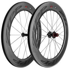 2015 Zipp 808 Firecrest Wheel Set - Black Decals - My Bike Shop  - 1