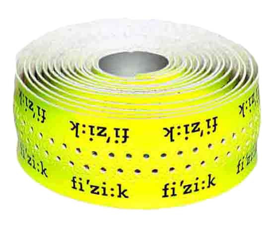 Fizik Superlight Bar Tape (Classic) Yellow w/ logo - My Bike Shop
