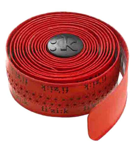 Fizik Superlight Bar Tape (Tacky) Red w/ Logo - My Bike Shop
