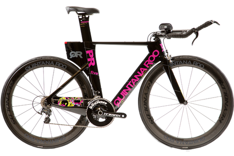 2017 Quintana Roo PRfive Frameset W/ Custom Build Options (Pink) - 52cm - Demo - Full Warranty