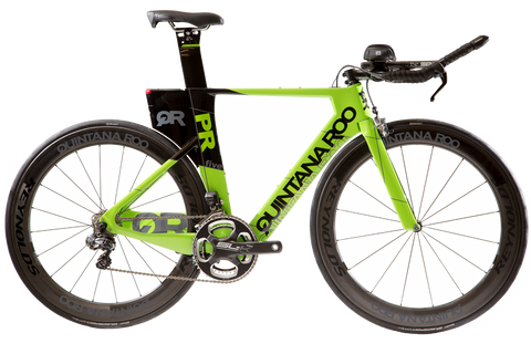 2017 Quintana Roo PRfive Frameset W/ Custom Build Options (Bright Green)  - Demo - Full Warranty
