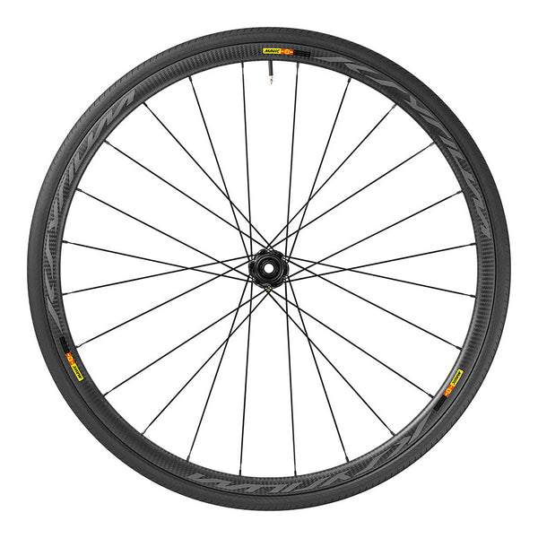 2017 Mavic Ksyrium Pro Carbon SL Disc WTS Tubular Wheel Set - My Bike Shop  - 1