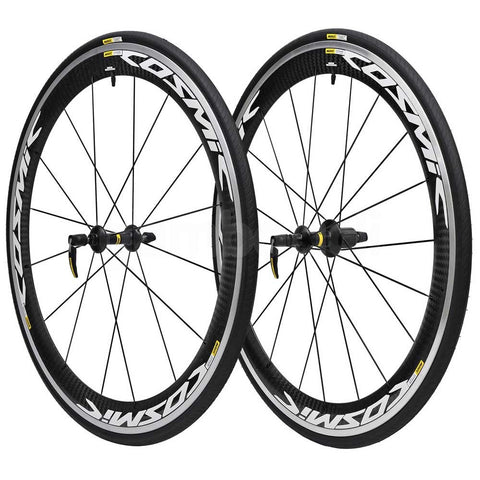 2018 Mavic Cosmic Pro Carbon WTS Wheel Set - White Decals