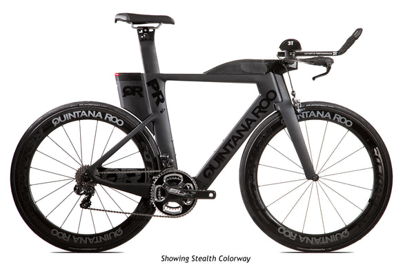 2018 Quintana Roo PRsix Ultegra Di2 Race - Stealth Black - 54cm - Incentives Available!