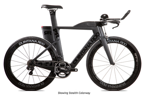 2017 Quintana Roo PRsix Ultegra Di2 (Stealth Black) - 54cm - New - Full Warranty